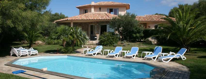 Location villas Corse