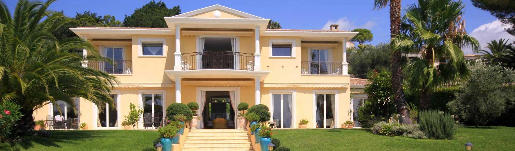 location villa avec jardin