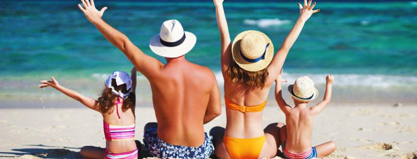 Vacances à la mer sur l'île d'Oléron